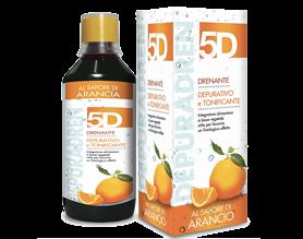 Farmacia AXA Madonnetta - 5D DEPURADREN 500ml sapore Arancia