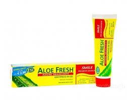 Farmacia AXA Madonnetta - Aloe Fresh azione sbiancante-dentifricio in Gel con microsfere.