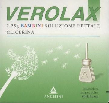Verolax 2,25 g bambini